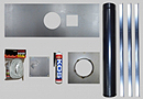 6 inch Stove Install Kit-Plate Size 1075mmx380mm